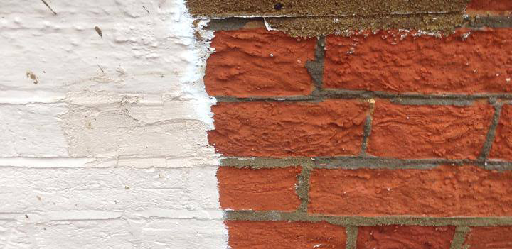 Exterior Paint Stripping Service