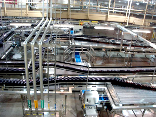 Pipework Conveyor Belt Cleaning