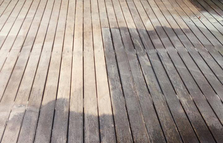 Professional Decking Cleaning