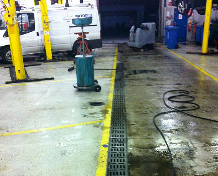 Professional Workshop Cleaning
